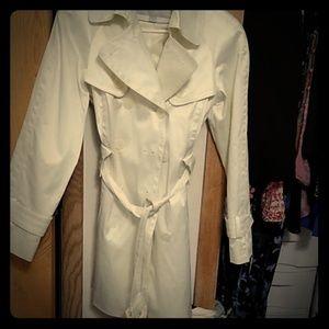 Jessica Simpson trench coat